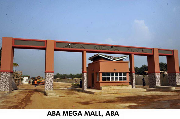 Aba Mega Mall Entrance