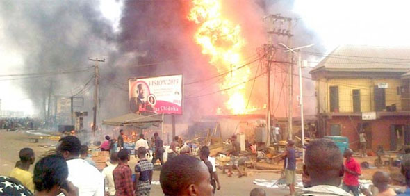 Onitsha Market Fire disaster